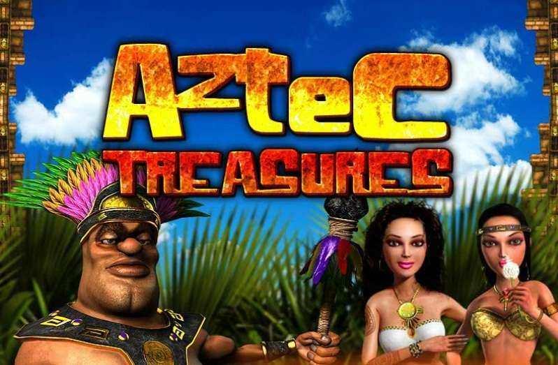 Онлайн игровой автомат Сокровища Ацтеков 3D