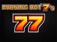 Онлайн игровой автомат 777 Burning Hot 7's