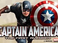Капитан Америка — Первый Мститель Скрэтч-Карты: играть онлайн